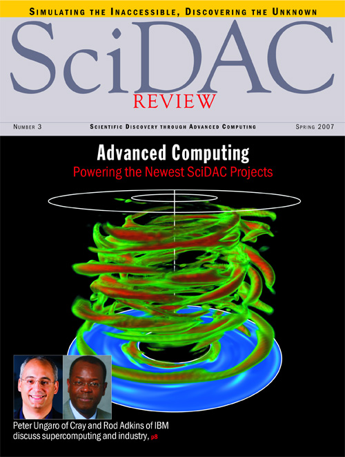 LBNL Visualization Group -- Magazine and Journal Cover Art