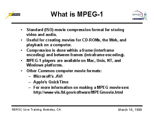 What is MPEG-1