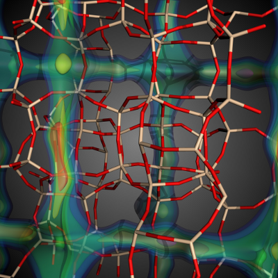 High-throughput Characterization of Porous Materials